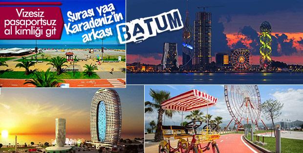 Pasaportsuz vizesiz tatilin adresi: Batum