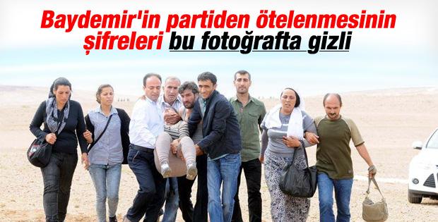 Osman Baydemir'in askerle çatışan grubu ikna çabası