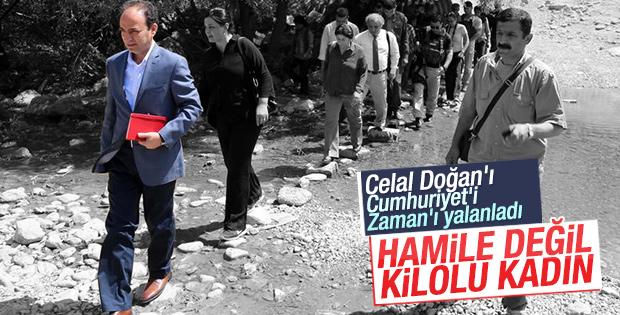 Osman Baydemir: Hamile değil kilolu