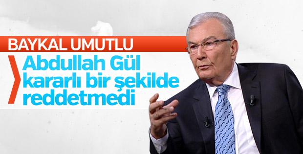 Abdullah Gül'ün açıklamalarına Deniz Baykal'dan cevap