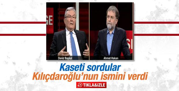 Baykal kasetle ilgili ilk kez Kılıçdaroğlu dedi