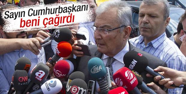 Sürpriz Erdoğan ve Deniz Baykal buluşması
