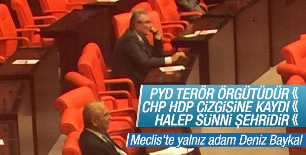 CHP'yi eleştiren Deniz Baykal yalnız kaldı