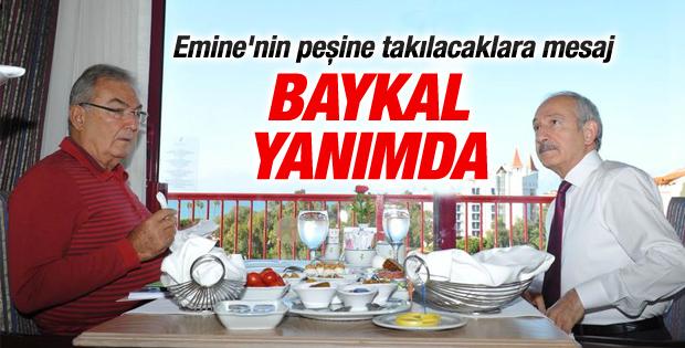 CHP Lideri Kılıçdaroğlu Baykal'la kahvaltıda buluştu