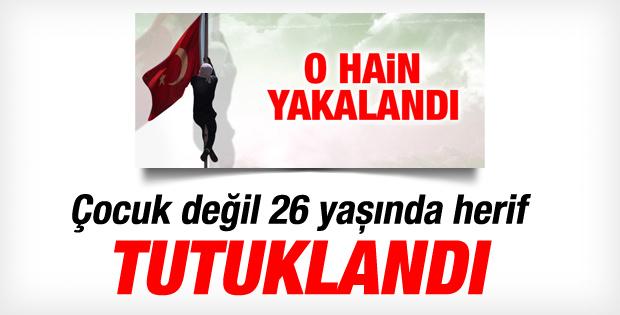 Diyarbakır'da bayrağı indiren Ömer Mutlu tutuklandı