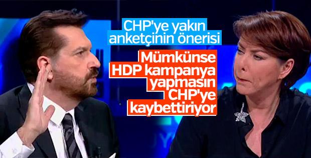 Anketçi Hakan Bayrakçı'dan HDP çıkışı