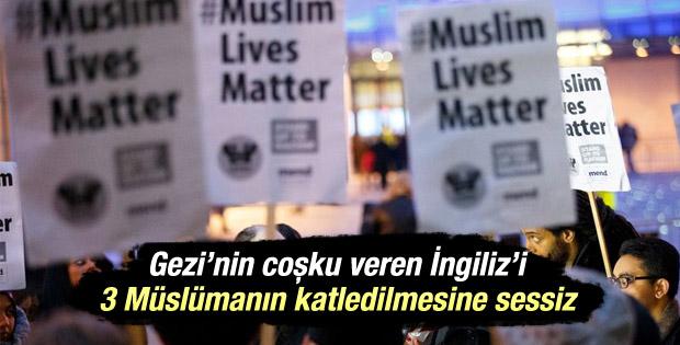 BBC'ye 3 Müslüman genç protestosu