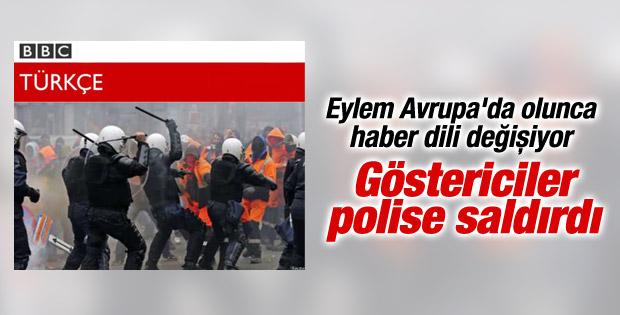 BBC Türkçe'nin dili Taksim'de başka Brüksel'de başka