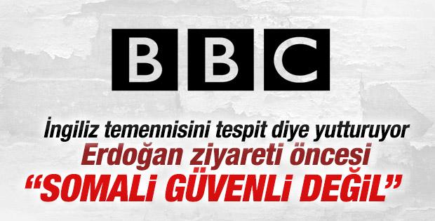BBC: Somali güvenli değil mesajı