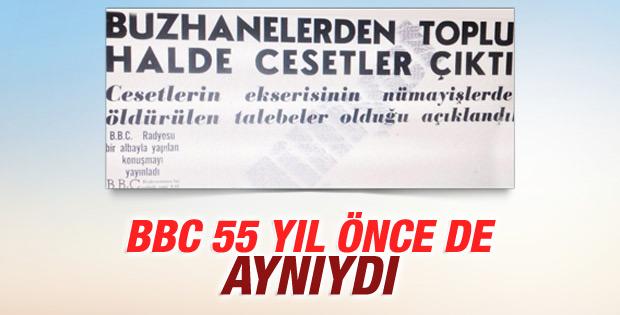 BBC'nin unutulmaz 27 Mayıs manşeti