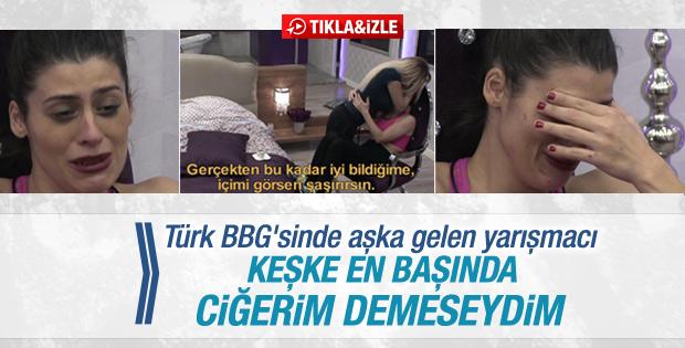 Big Brother Türkiye'de Çağla'nın aşk itirafı