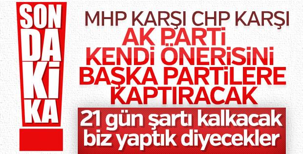 CHP, 21 günlük askerlik süresinin kalkmasını istiyor