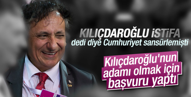 Kılıçdaroğlu'nu eleştiren Bedri Baykam PM'ye aday