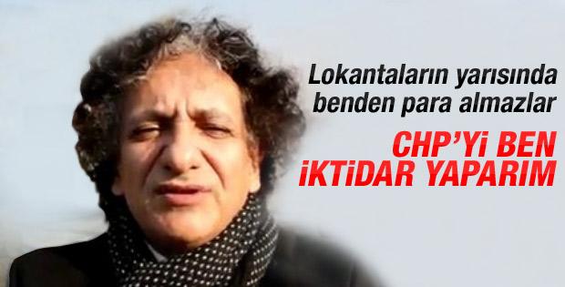 Bedri Baykam: CHP'yi ben iktidar yaparım