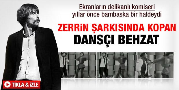 Erdal Beşikçioğlu Zerrin Özer'in klibinde dans etmiş - izle