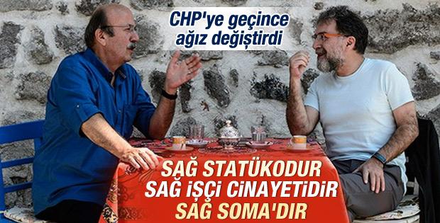 Mehmet Bekaroğlu: Sağ statükodur