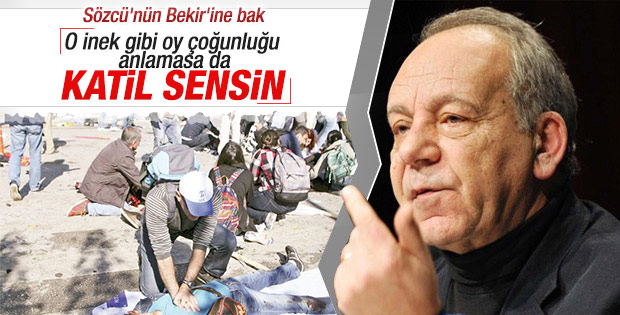 Bekir Coşkun patlama için Erdoğan'ı işaret etti