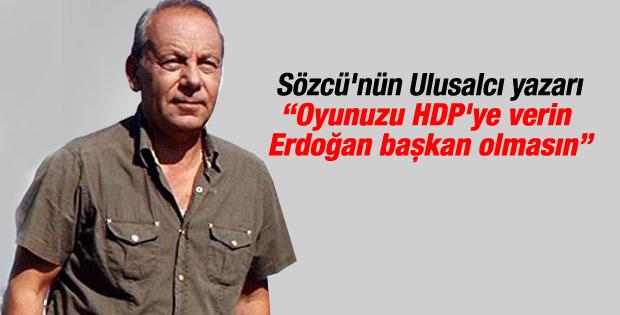 Bekir Coşkun'dan HDP yazısı