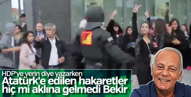 Bekir Coşkun HDP'ye oy çağrısı yaptı