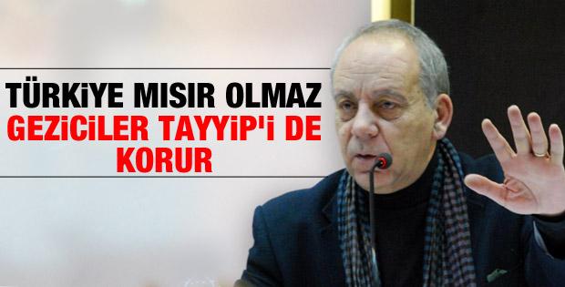 Bekir Coşkun: Türkiye Mısır olmaz