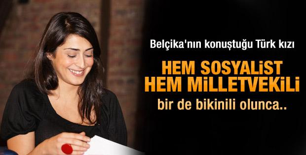 Belçika Türk vekilin bikinili fotoğrafını konuşuyor