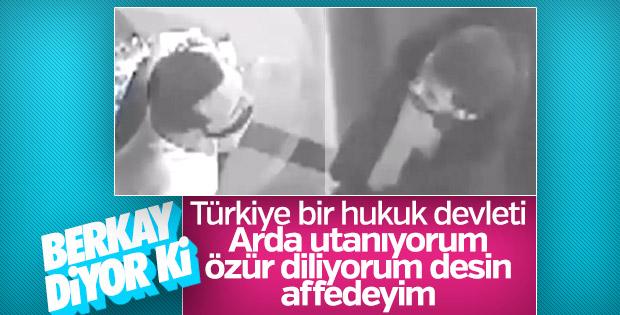 Berkay, Arda Turan'ın özür dilemesini istedi