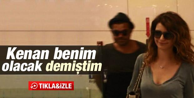 Kenan Doğulu ile Beren Saat İstanbul'a döndü