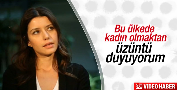 Beren Saat'e göre Türkiye'de kadın olmak