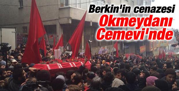 Berkin Elvan'ın cenazesi cemevine götürüldü