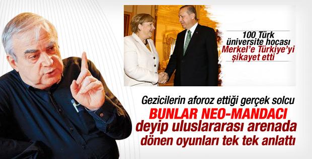 Halil Berktay Merkel'e mektup yazan aydınları eleştirdi