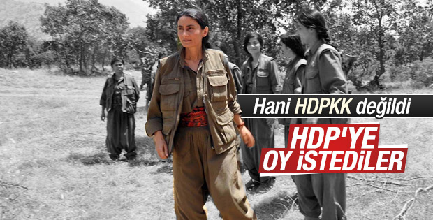 KCK'lı Bese Hozat HDP'ye oy istedi