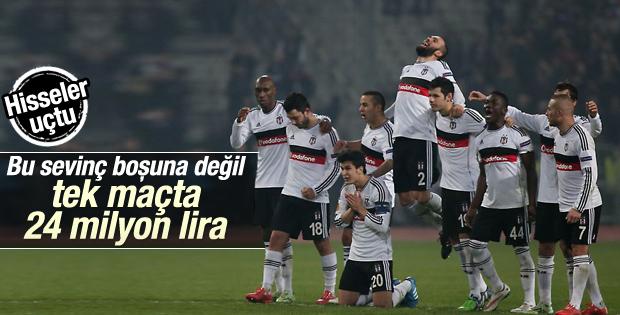 Beşiktaş hisseleri, Liverpool zaferini kutluyor