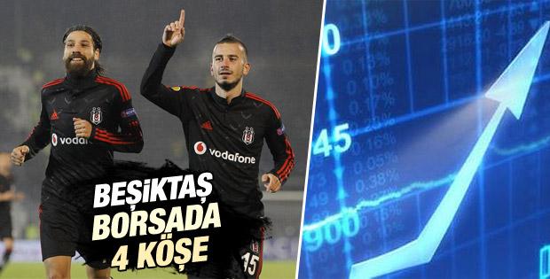Beşiktaş borsada da kazandı