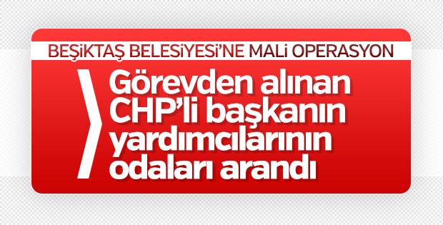 Beşiktaş Belediyesi'nde arama