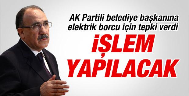 Beşir Atalay: O başkan hakkında gereken yapılacak