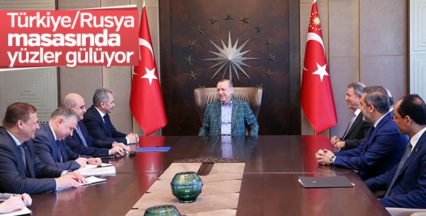Rusya Savunma Bakanı Türkiye'de