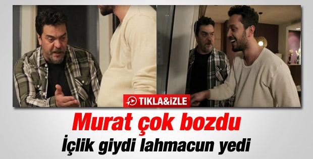 Beyaz Show'da Murat Boz'dan güldüren skeç - İzle