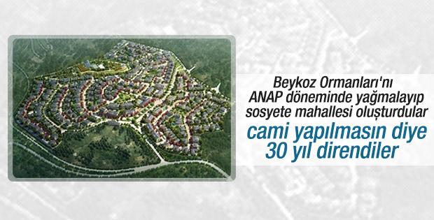 Beykoz Acarlar'ın ilk camisi hizmete açıldı