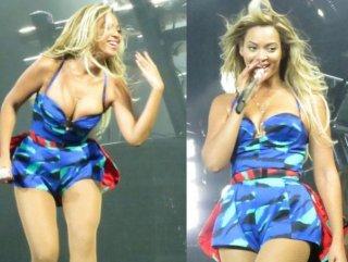 Beyonce yine yürek hoplattı