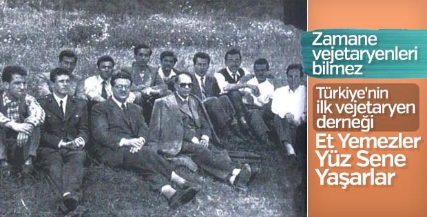 Türkiye'nin ilk vejetaryen derneği