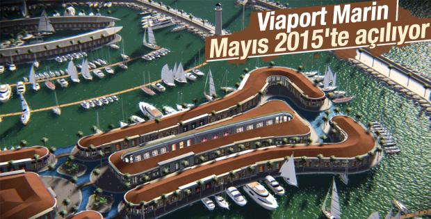 Viaport Marin Mayıs'ta açılıyor