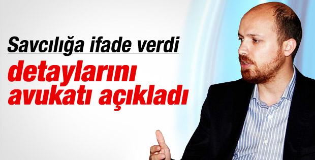 Bilal Erdoğan savcılığa ifade verdi