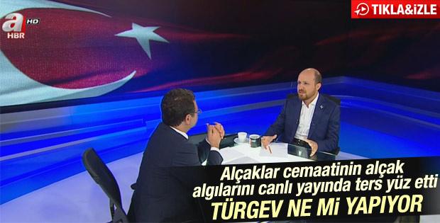 Bilal Erdoğan: Saldırılarda hedef TÜRGEV değil ailemiz