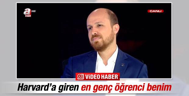 Bilal Erdoğan ilk kez canlı yayına çıktı