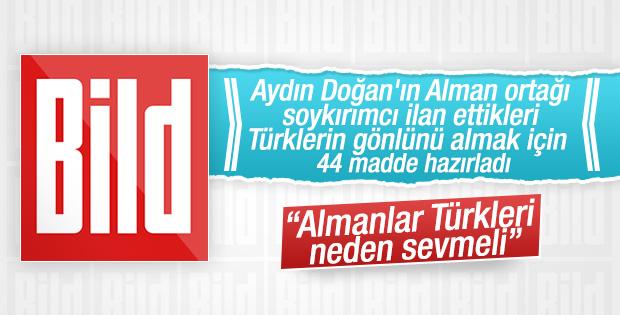 Bild gazetesi Türkleri sevmek için 44 neden sıraladı