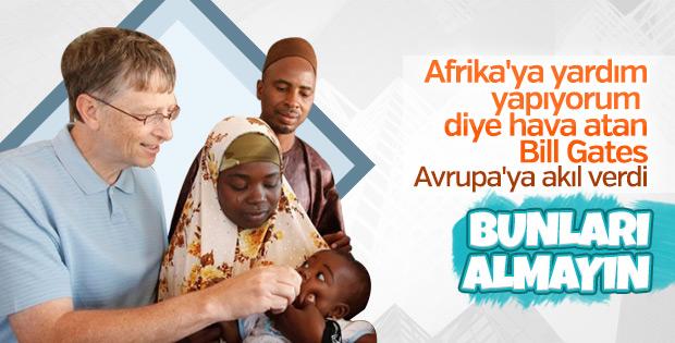 Bill Gates: Avrupa Afrikalılarla başa çıkamaz