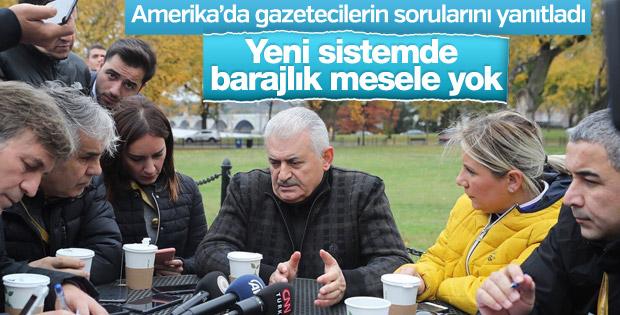 Başbakan'dan seçim barajı açıklaması