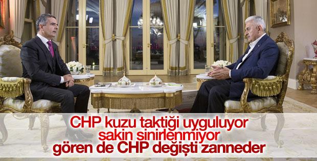 Başbakan: CHP kuzu taktiği uyguluyor