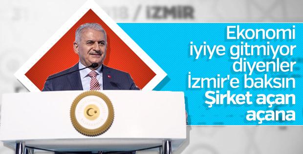 Başbakan Yıldırım, ekonomiyi kötüleyenlere cevap verdi