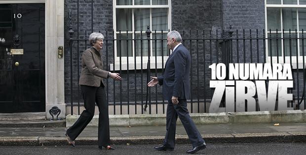 Binali Yıldırım 10 Downing Street'te